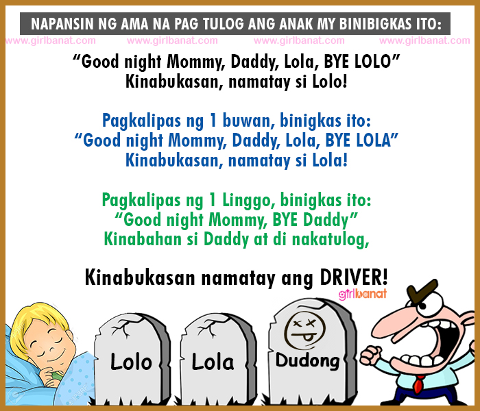 Tagalog Scary Jokes That Will Make You Laugh