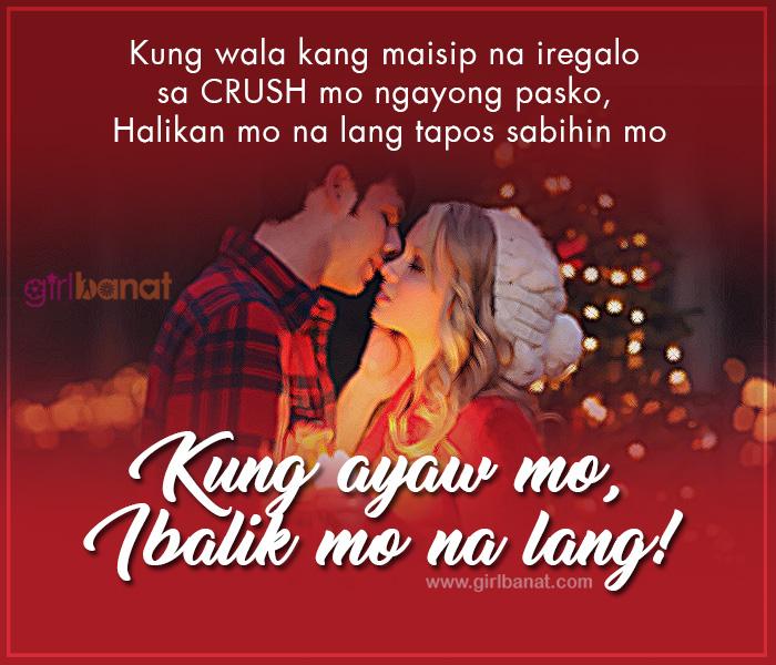 List of Cool Tagalog Christmas Pick Up and Banat Lines